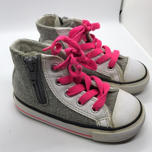 d8a780084de7 Converse Other - Toddler Girl Converse Chuck Taylor All Stars